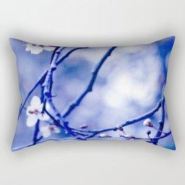 pale indigo Rectangular Pillow