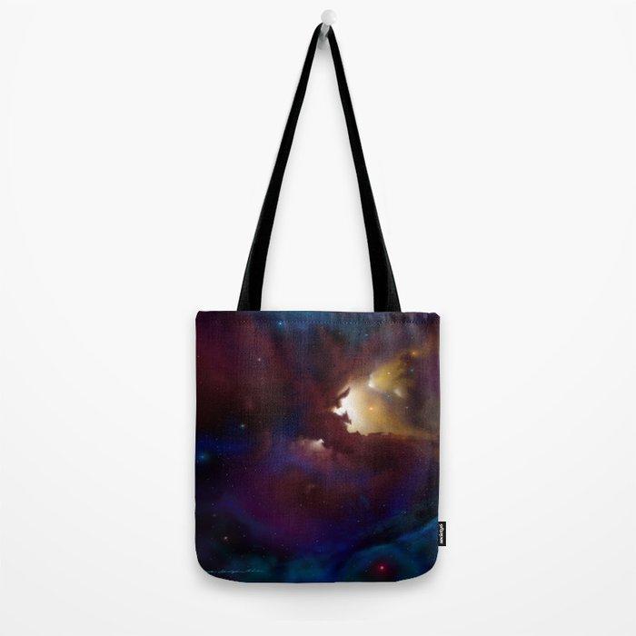 Bat Nebula  Tote Bag