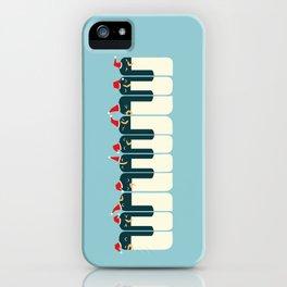 The Penguin Choir iPhone Case