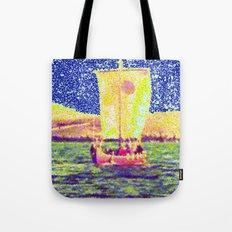Sail Away Abstract Daydream Tote Bag