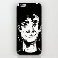 neil gaiman iPhone & iPod Skins featuring NEIL GAIMAN by Simone Bellenoit : Art & Illustration