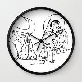 Cantina Wall Clock