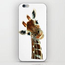 Cute Giraffe iPhone Skin
