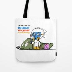 Do Great Work Tote Bag