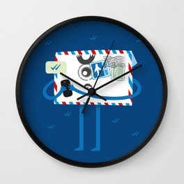 Old style Email Wall Clock