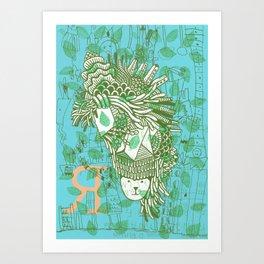 Vegetation Art Print