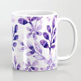 Watercolor Floral VIV Coffee Mug