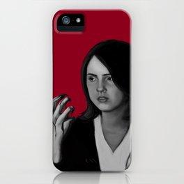 Bad Blood IV iPhone Case