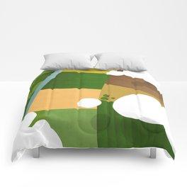 Green fields  Comforters