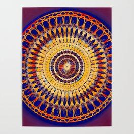 Gold Mandala Poster