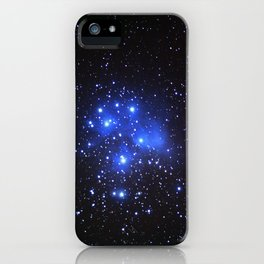 the Pleiades or Seven Sisters in Taurus iPhone Case