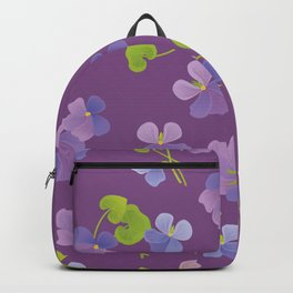 Forest Violet Backpack
