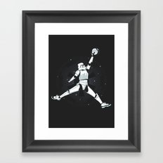 JUMPMAN TROOPER Framed Art Print