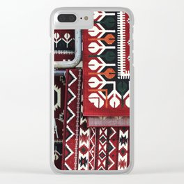 Arabic Woven Carpets Clear iPhone Case