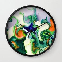 vivid marble i Wall Clock