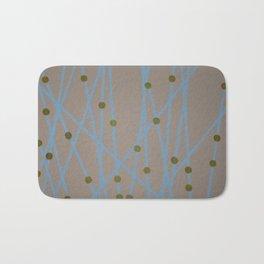 Screen Print design Bath Mat
