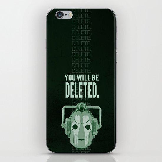 Doctor Who: Cybermen Print iPhone & iPod Skin