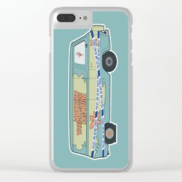 Busted: Mystery Machine Clear iPhone Case