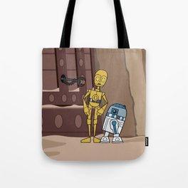 EP6 : C-3PO & R2-D2 Tote Bag