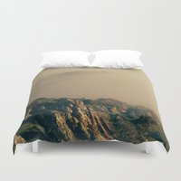 coyote Duvet Covers featuring Coyote Hills by Kyle J. Glenn