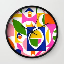 tango in the lemon tree ... Wall Clock