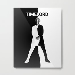 Abstract Timelord Art Metal Print