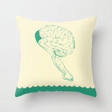 Think or Swim Throw Pillow