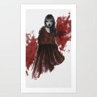 The Revenge of Riding Hood Art Print