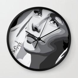Elizabeth Taylor - Dreamy Eyes Wall Clock