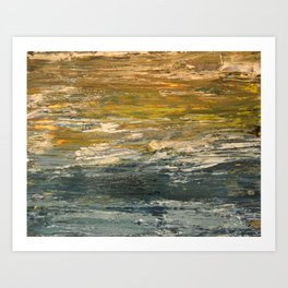 From A Boat Art Print