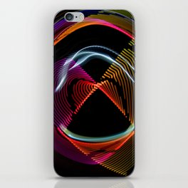 Experiments in Light Abstraction 1 iPhone Skin