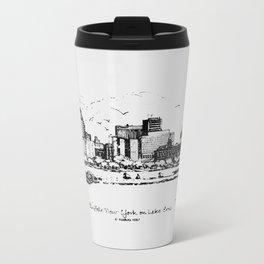 Buffalo By AM&A's 1987 Metal Travel Mug