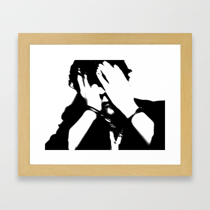 [ ... Guilty - #7. ] Framed Art Print