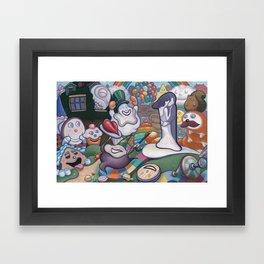 2's My Favorite 1 Framed Art Print
