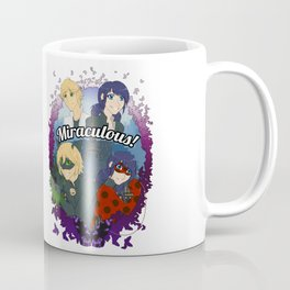 Miraculous Heroes of Paris Coffee Mug