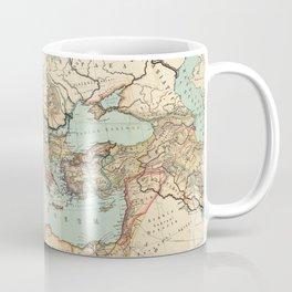Vintage Map of The Roman Empire (1889) Coffee Mug