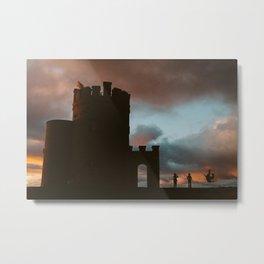 O'Brien's Tower at Sunset Metal Print