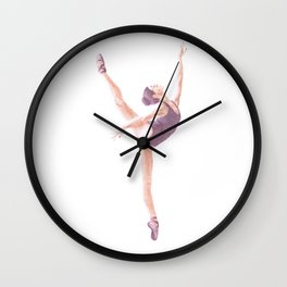 Prima Ballerina De Vin Wall Clock