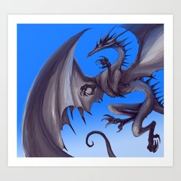 Air Dragon Art Print