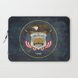 Utah State Flag - vintage version Laptop Sleeve
