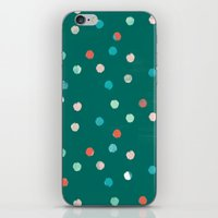 dots iPhone & iPod Skins featuring dots by Grace