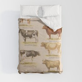 Bulls And Cows Comforters