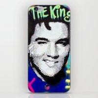 elvis presley iPhone & iPod Skins featuring Elvis Presley  by Paola Gonzalez