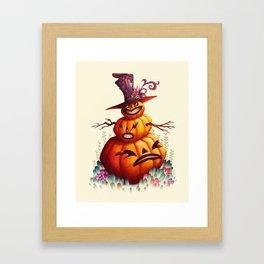 Jolly Punkin Framed Art Print