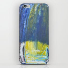 Beyond blue iPhone Skin