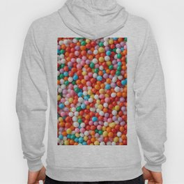 Multicolored candy drops Hoody