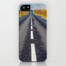 Road to Nowhere. iPhone Case