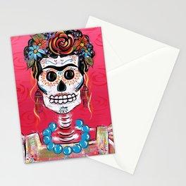 FRIDA Sugar Skull 2014 Stationery Cards