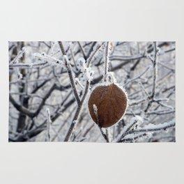 Winter leaf Rug