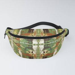 Out there in the woods, I feel peace........ Fanny Pack